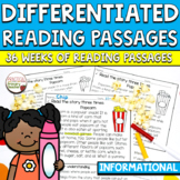 Differentiated Reading Comprehension Passages INFORMATIONA