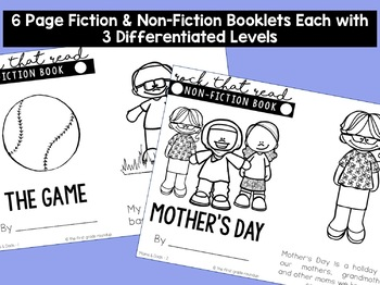 Reading Comprehension Passages for Mother's Day and Father's Day