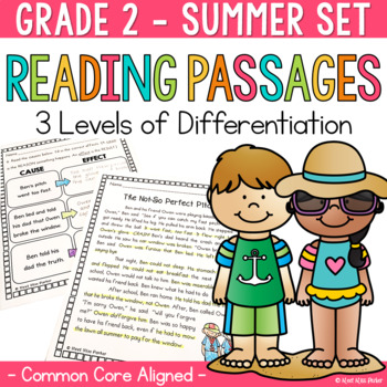 Differentiated Reading Passages Summer