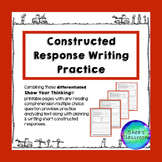 Constructed Response Writing Practice