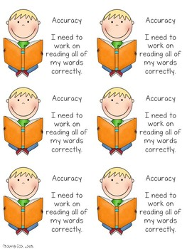 Differentiated Reading Goal Labels for Accuracy