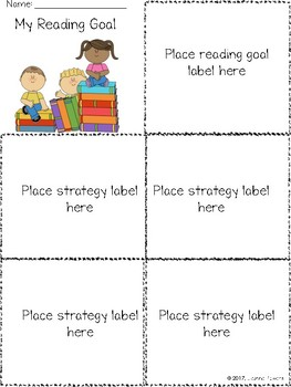 Differentiated Reading Goal Labels: Retell