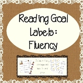 Differentiated Reading Goal Labels: Fluency
