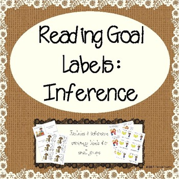 Differentiated Reading Goal Labels: Inference