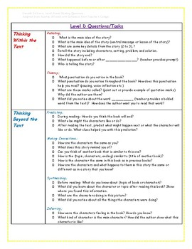 Differentiated Reading-Level-Based Question Tasks