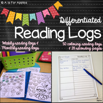 Differentiated Reading Logs for the Whole Year