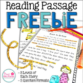 Differentiated Reading Passage FREEBIE
