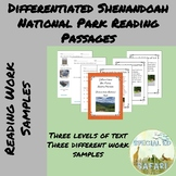 Differentiated Reading Passages- Shenandoah National Park-