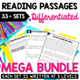 Differentiated Reading Passages - GROWING Bundle