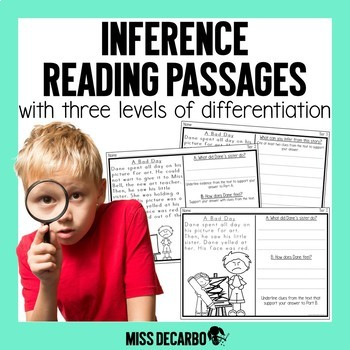 Inference Reading Passages