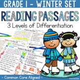Differentiated Reading Passages and Questions Winter 1st Grade