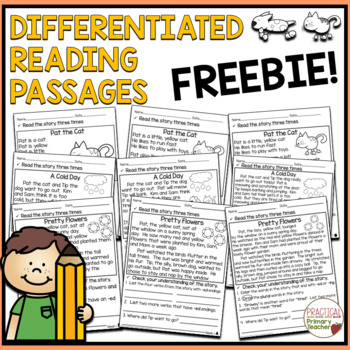 Differentiated Reading Passages and Comprehension Questions - FREEBIE