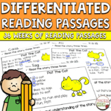 Differentiated Reading Passages and Comprehension Questions - FICTION Bundle