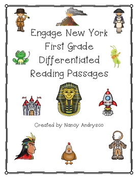 Differentiated Reading Passages for Engage New York & CKLA- 1st Grade