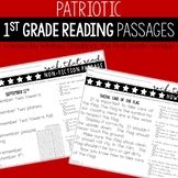 Patriotic Reading Comprehension Passages and Questions