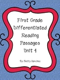 Differentiated Reading Passages for First Grade Unit 4