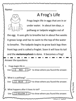 Differentiated Reading Passages for Kindergarten Unit 4