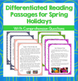 Differentiated Reading Passages for Spring Holidays