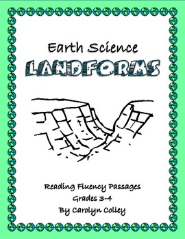 Differentiated Reading Passages to Improve Fluency: Earth Science - Landforms