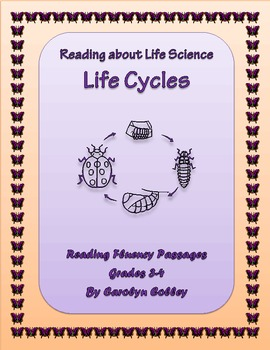 Differentiated Reading Passages to Improve Fluency: Life Science - Metamorphosis