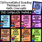 Differentiated Reading Passages with Math Concepts Bundle