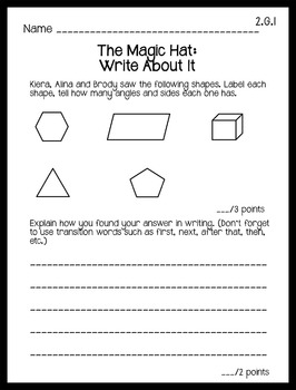 Differentiated Reading Passages with Math Concepts: Geometry