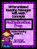 Differentiated Reading Passages with Math Concepts: Multiplication Prep