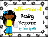 Differentiated Reading Response Notebook
