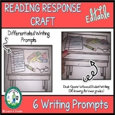 Differentiated Reading Response Craft - EDITABLE