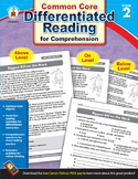 Differentiated Reading for Comprehension Grade 2 SALE 20% OFF! 104614