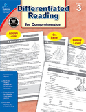 Differentiated Reading for Comprehension Grade 3 SALE 20% OFF! 104615
