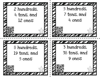 Differentiated Rename-a-Number with 4.NBT.1/5.NBT.1 (QR self-checking)