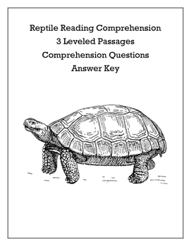 Differentiated Reptile Reading Comprehension