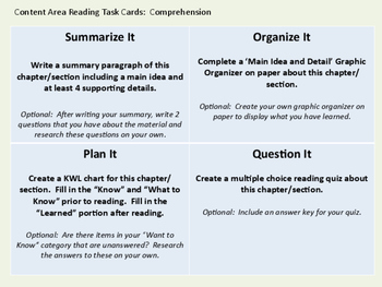 Differentiated Response Card Bundle