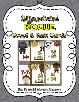 Differentiated Rogue Scoot & Task Cards