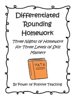 Differentiated Rounding Homework