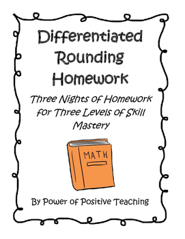Differentiated Rounding Homework