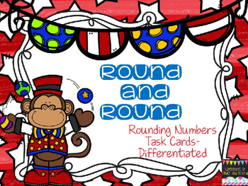 Rounding Task Cards- Differentiated Activities