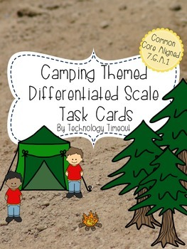 Differentiated Scale Task Cards
