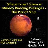 Mars - Differentiated Science Reading Passages