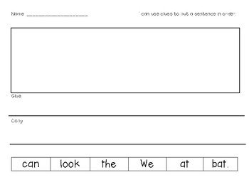 Differentiated Sentence Maker