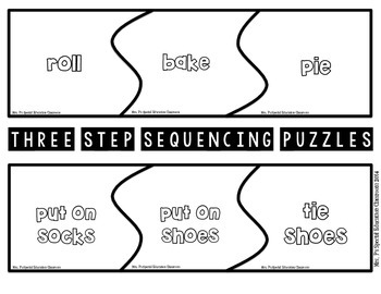 Differentiated Sequence Puzzles