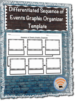 Differentiated Sequence of Events Graphic Organizer Template