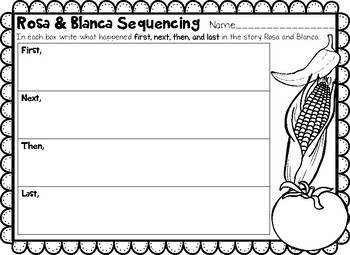 Differentiated Sequencing ROSA and BLANCA 2nd Grade