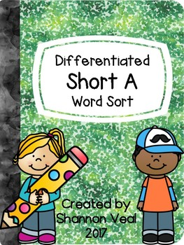 Differentiated Short A Word Sort