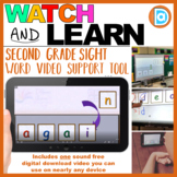 Differentiated Sight Word Resource   Video   2nd Grade   Again