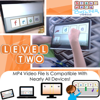 Differentiated Sight Word Resource | Video | 2nd Grade | Only