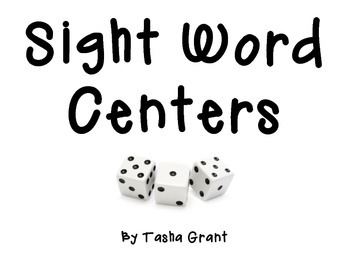 Differentiated Sight Word Centers