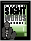 ***NEW***Differentiated Sight Words Bundle (Discounted Price)