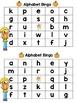 Autumn Bingo Games! {Alphabet and CVC}